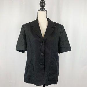 Talbots Short Sleeve Blazer